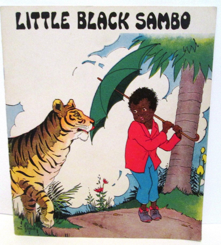 Vintage or Antique Little Black Sambo Platt & by ...