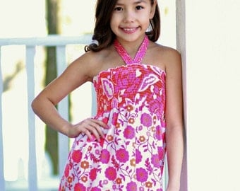 Ruby's Tween Sun Top PDF Pattern size 7/8 to 15/16 girls
