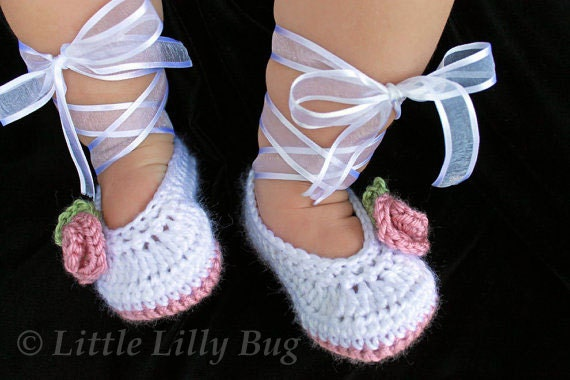Free Crochet Pattern For Baby Ballet Flats : Ballerina Baby Shoes Images & Pictures - Moyuk