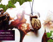 Awen pendant - Druid mistletoe pendant - Celtic talisman