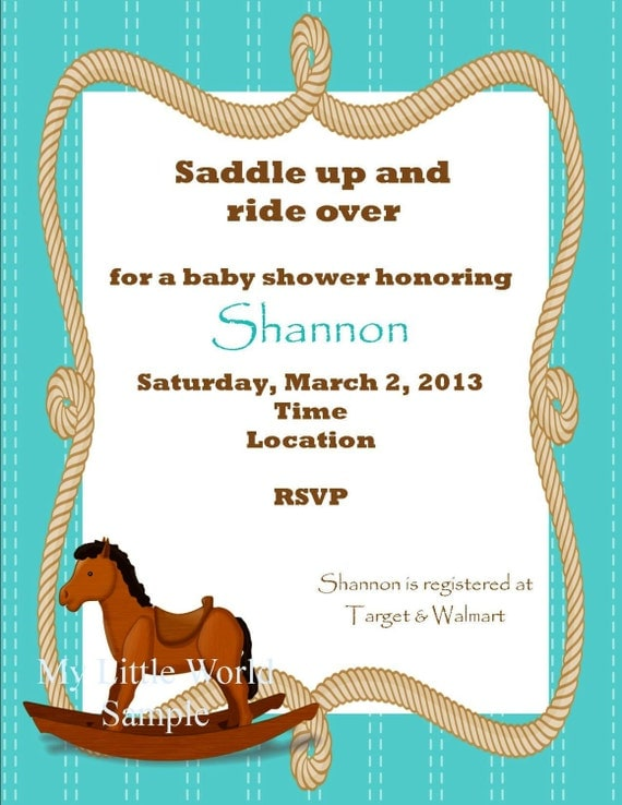 Country Baby Shower Invitations is adorable invitations layout