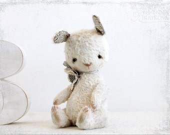 PATTERN Download to create teddy like Bunny Sweet Lesley) 7 inch
