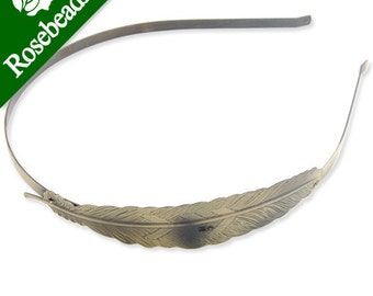 10PCS 101x23mm Leaf Headband,Antique Bronze Plated,hair accessories C1485