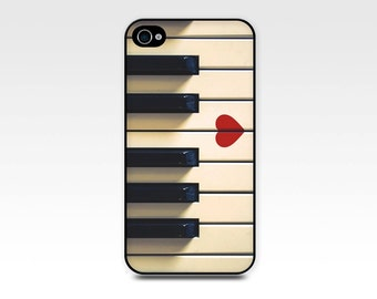 iphone 4 case 4s 5 5s 6 piano heart artsy vintage photography art iphone 5 5s case piano keys black white red romantic case music instrument