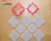 Quatre Foil Pattern Cuttter