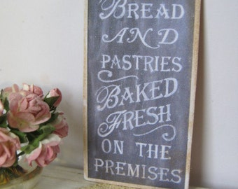 Bakery Chalkboard Sign/Print for Dollhouse
