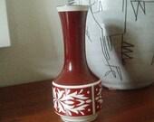 Vase - Spechtsbrunn - GDR - 1970ies - Porcelain with Ornaments