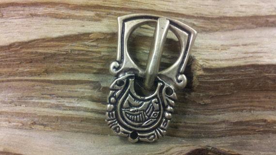 bronze buckle