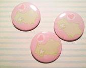 Alpaca Mint chan 2.25 inch pinback button