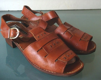 Roman Style Leather Sandals