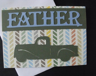 Handmade Father's Day Greeting Card