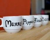 Lord of the Rings Stacking Mugs with all your favorite Hobbits