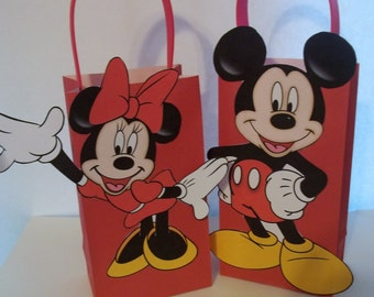 SALE Boys/Girls Mouse  Favor Bags Full body
