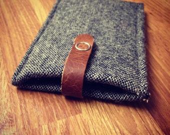 Handmade Tweed iPhone 5/5s Case/ Sleeve