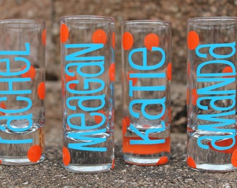 Personalized Shot Glasses - - - Assorted Designs