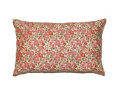 """Light Pink Floral Betsy Liberty of London Print Throw Pillow Cover 12""""x20"""" - More Sizes Avalaible"""