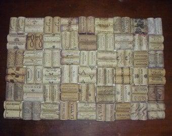 "Set of 2 - Wine Cork Placemats 10"" x 15"""
