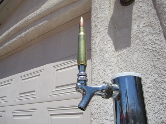 Beer Tap Handle-50 Cal Bullet -Makes a Great Gift for the Man Cave- Great, and affordable Christmas Gift!
