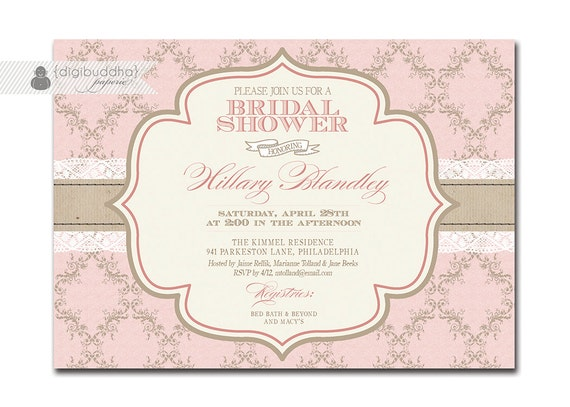 Digibuddha paperie 39 s vendor listing catch my party for Elegant bridal shower invitations