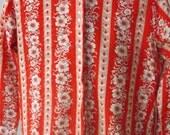 Lady Marlboro Vintage Floral Blouse/Vintage plus size blouse by Lady Marlboro