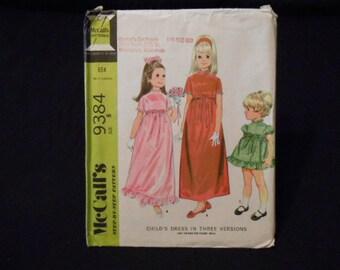 McCalls 9384, child size 6