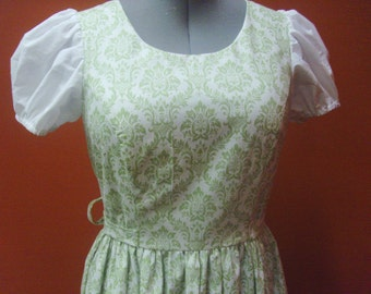 "READY TO SHIP Liesl's ""curtain"" dress from the Sound of Music - adult sizes"