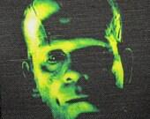 BORIS KARLOFF Frankenstein Monster - Printed Patch - Sew On - Vest, Bag, Backpack, Jacket p492