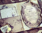Fairy tale Book Wedding Invitations