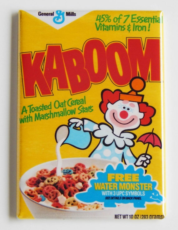 Kaboom Cereal Box Fridge Magnet (2 x 3 inches)