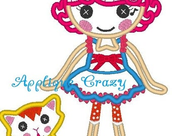 Doll Full body Applique design