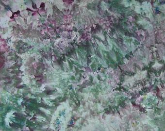 Ice Dyed Fabric, Purple Dusk, Fat Quarter (MH) #58