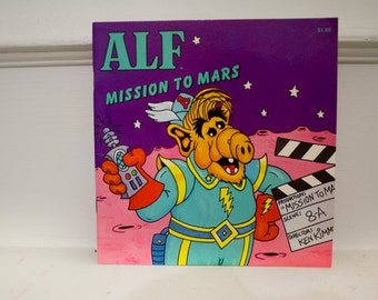 ALF Mission To Mars children's book - Vintage /Great shape/ Original
