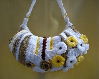 Crochet Handbag Handmade Purse