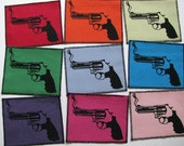 One smoking gun canvas patch in any color you choose....FREE SHIPPING USA