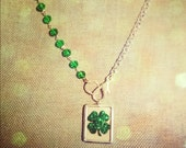Lucky in Love Reversible Soldered Charm Necklace