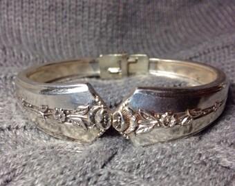 Spring Garden 1949 Silverware Bracelet