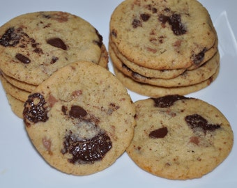 Chocolate Chunk Cookies  Milk and Dark Chocolate Sweet and Fresh