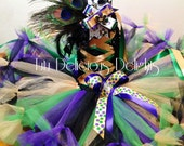 Mardi Gras Tutu Dress, Mardi Gras Dress, Mardi Gras Outfit, Pageant Tutus