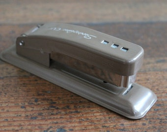 Vintage Tan Stapler Swingline Cub (Swingline Inc. Long Island City, New York)