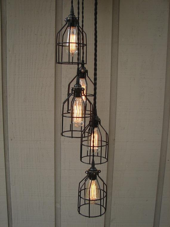 5 Light Industrial Pendant