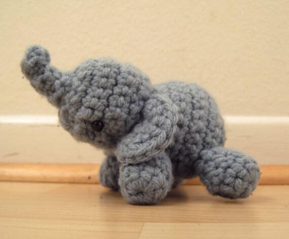 Amigurumi Elephant (NOT a pattern)