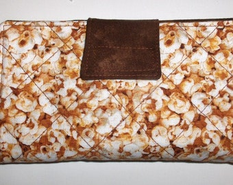 Checkbook Cover - Popcorn