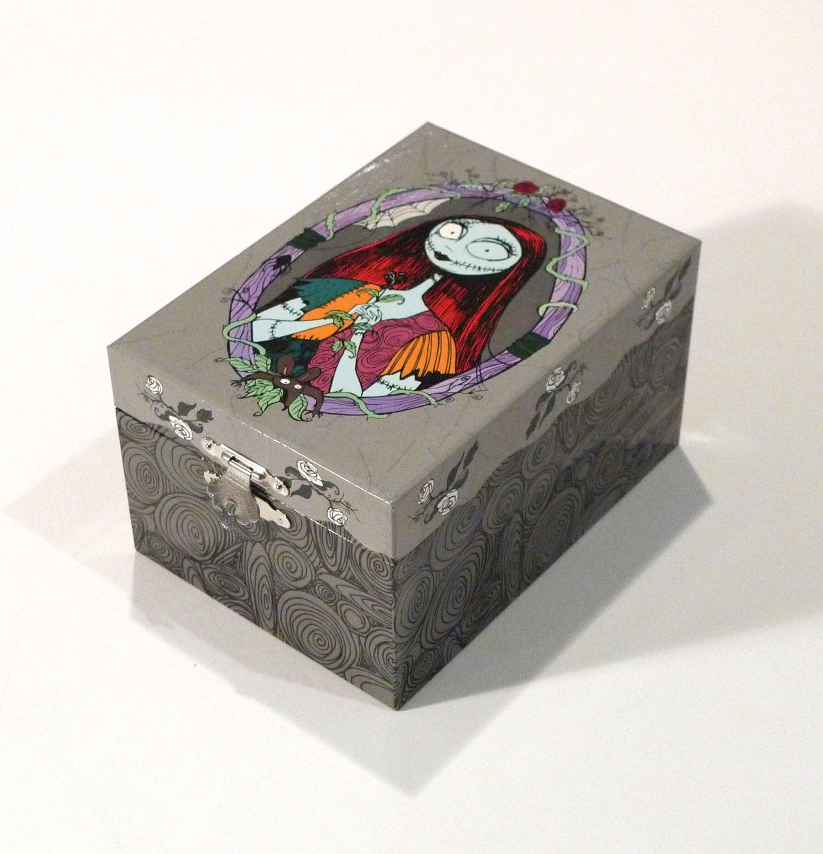 Nightmare Before Christmas Music Box Trinket Box Jewelry Box