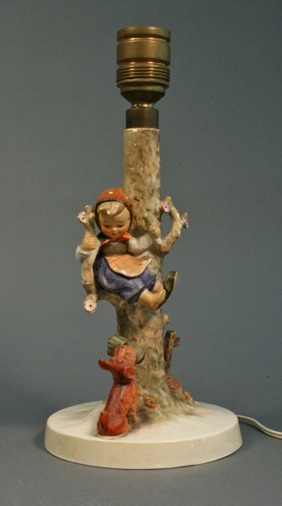 Hummel Lamp 44b 1936 Out Of Danger Made By Goebel In W