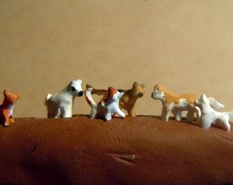 Super tiny cats set II.