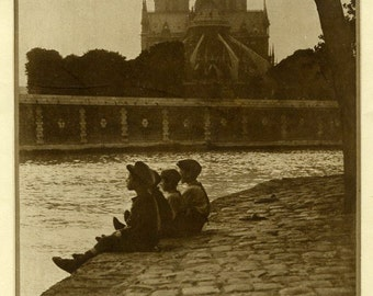 Digital Download-Evening on the Seine