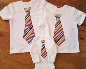 Boys tie shirt