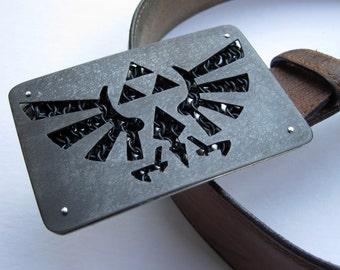 Legend of Zelda Dark Link Hylian Crest Belt Buckle