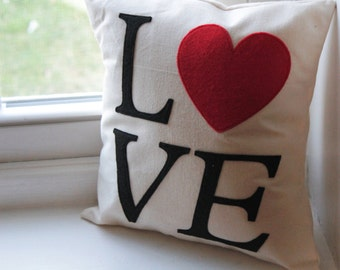 Pillow Cover Love Squared 12x12