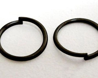 2000pcs Black/ Gun Metal JumpRings,Unsoldered, 5mm diameter,FREE SHIPPING within USA